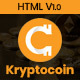Kryptocoin Bitcoin & Crypto Currency Template