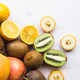 Fruit banana coconut lemon apple kiwi - PhotoDune Item for Sale