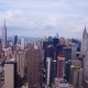 Aerial View of the Empire State and Chrysler Buildings - VideoHive Item for Sale