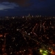 Aerial East Village, Lower Manhattan, Midtown by Dusk - VideoHive Item for Sale