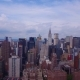 View of the Empire State and Chrysler Buildings - VideoHive Item for Sale