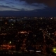 Panorama of Financial District, East Village, Lower Manhattan and Midtown at Dusk - VideoHive Item for Sale