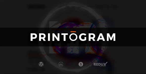 Printogram — WordPress Theme