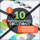 10 Infographic Solutions. Part 1 - GraphicRiver Item for Sale
