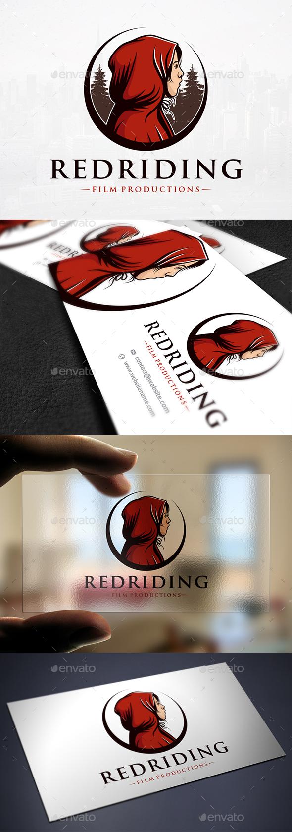 Little Red Hood Logo - Humans Logo Templates