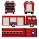 Fire Truck Vector Template - GraphicRiver Item for Sale