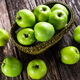 Fresh green apples - PhotoDune Item for Sale