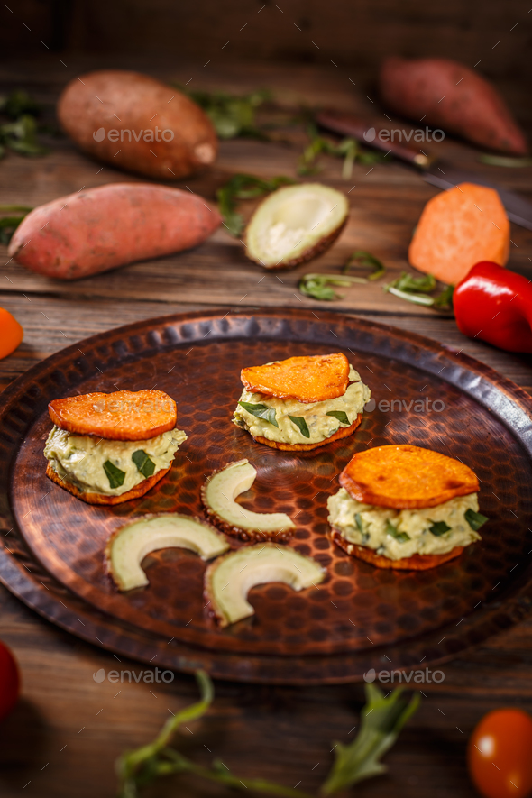Delicious vegetarian food - Stock Photo - Images