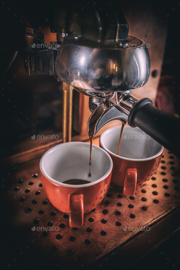 Coffee machine - Stock Photo - Images