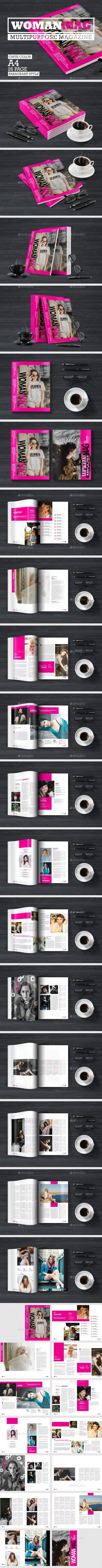 Woman Magazine - Magazines Print Templates