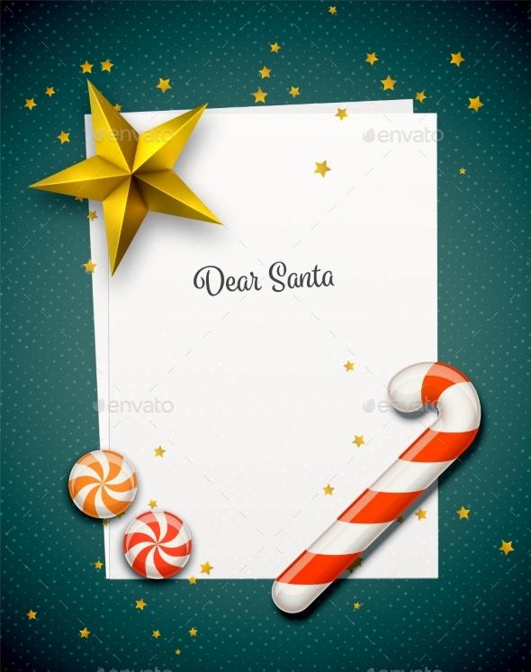 Santa Claus Letter - Christmas Seasons/Holidays