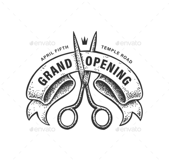 Grand Opening Sign - Miscellaneous Vectors