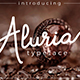 Aluria - Signature Font - GraphicRiver Item for Sale