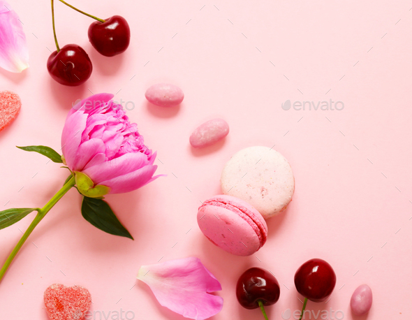 Pink Background - Stock Photo - Images