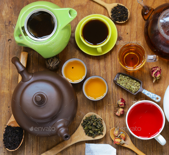 Aromatic Tea - Stock Photo - Images