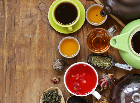 Aromatic Tea - Stock Photo - Images