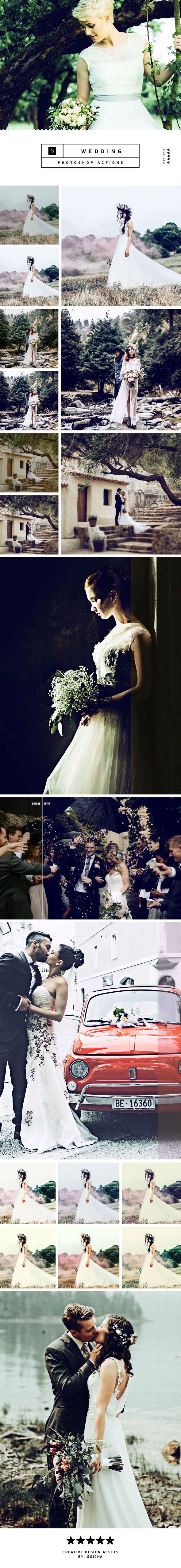 Wedding Photoshop Actions - Actions Photoshop