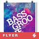 Bass Groove - Party Flyer / Poster Template A3 - GraphicRiver Item for Sale