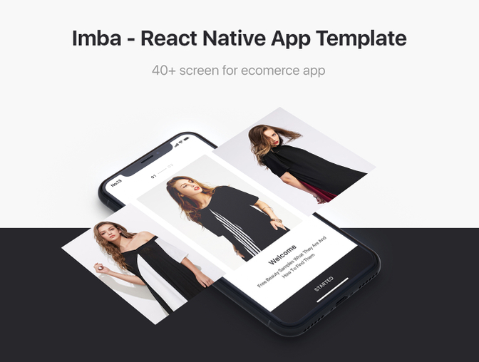 imba react native e commerce app template by no13studio codecanyon. Black Bedroom Furniture Sets. Home Design Ideas