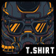 Dark Future T-Shirt Design - GraphicRiver Item for Sale