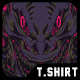 Wrath Monster T-Shirt Design
