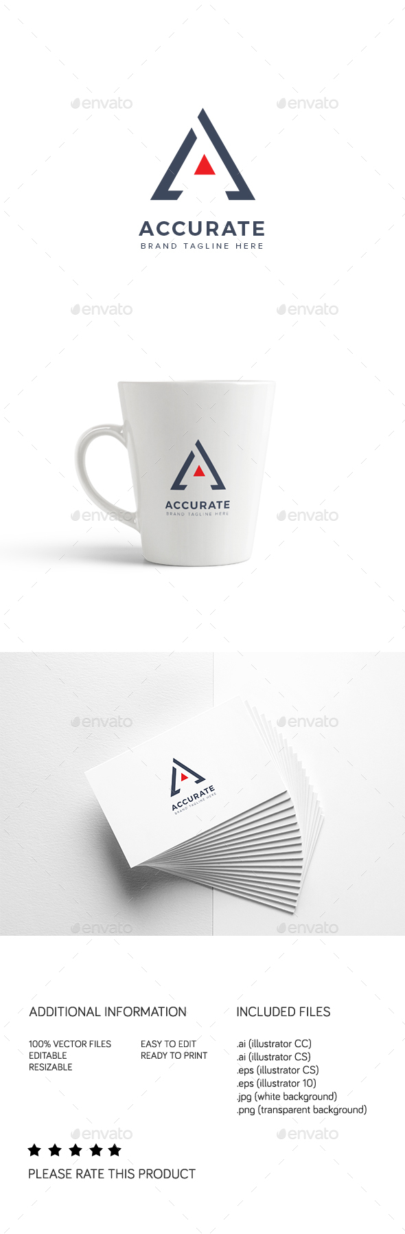 Accurate Logo - Letters Logo Templates