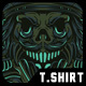 The Captain T-Shirt Design - GraphicRiver Item for Sale