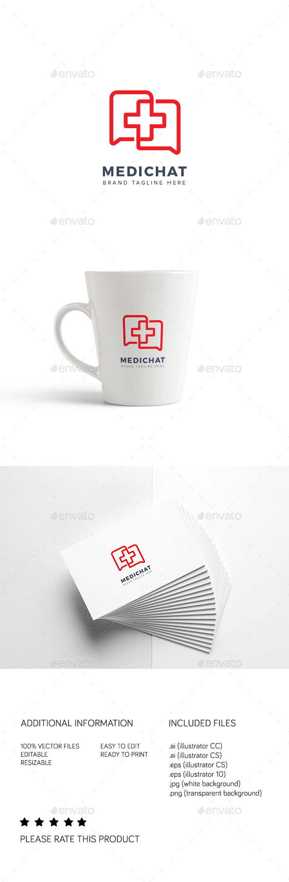 Medichat Logo - Symbols Logo Templates