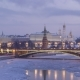 Moscow Kremlin and Moscow River in Frosty Winter Morning. Russia - VideoHive Item for Sale