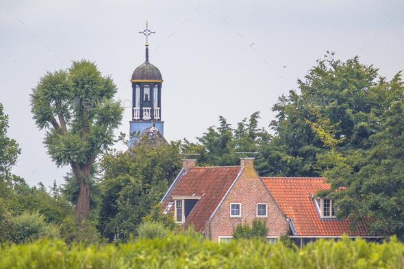Dutch historic village detail - Stock Photo - Images