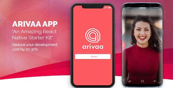 Arivaa Firebase (React Native and Expo) - CodeCanyon Item for Sale