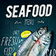 Seafood Menu - GraphicRiver Item for Sale