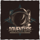 T-Shirt Label Design of Adventure - GraphicRiver Item for Sale