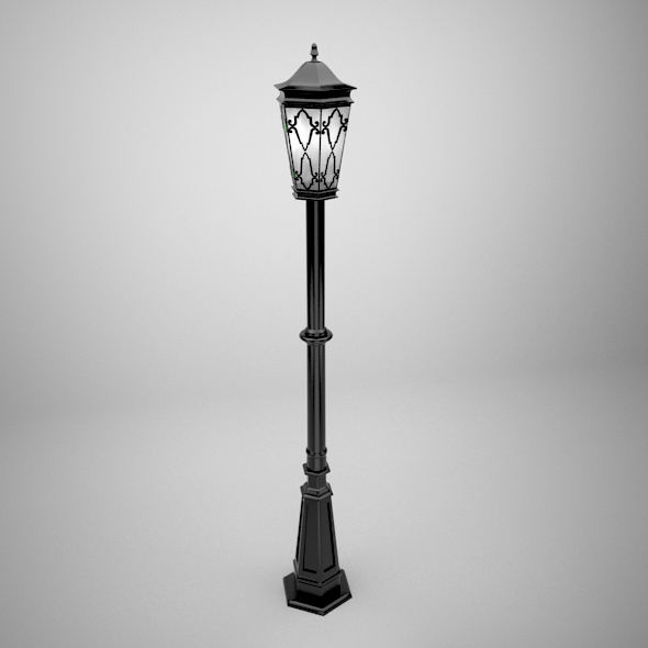 Street Lamp - 3DOcean Item for Sale
