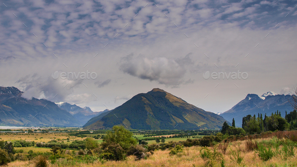 View of Mount Alfred - Stock Photo - Images