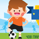 Soccer Kids Birthday Invitation - GraphicRiver Item for Sale
