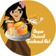 Super Mascot Traditional Girl