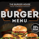 Burger Menu Flyer - GraphicRiver Item for Sale