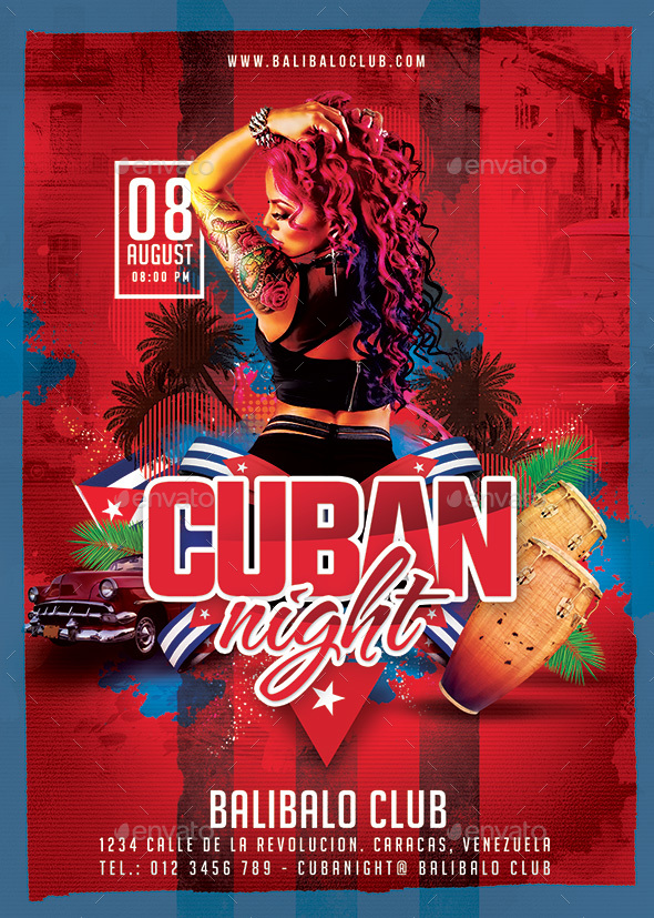 Cuban Night Party - Clubs & Parties Events