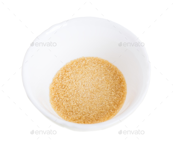 Closeup of brown sugar. - Stock Photo - Images