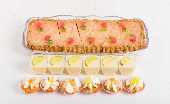 Various delicious desserts. - Stock Photo - Images