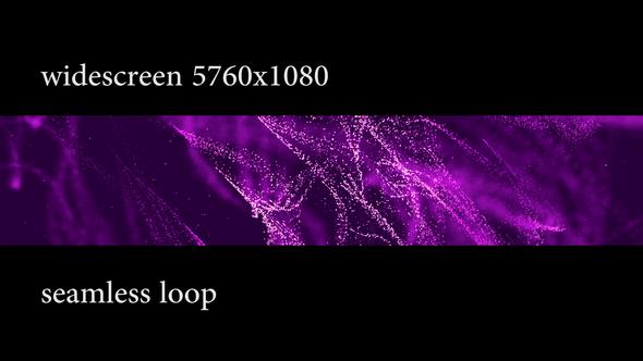 Flickering Gold Liquid Widescreen - 2