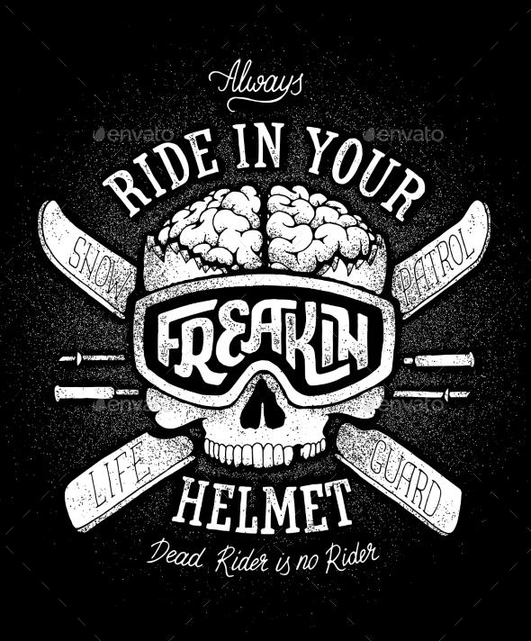 Helmet Safety Propaganda - Miscellaneous Vectors