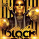 Black And Gold Party Flyer - GraphicRiver Item for Sale