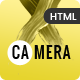 Camera - Photography HTML Template for Photographer