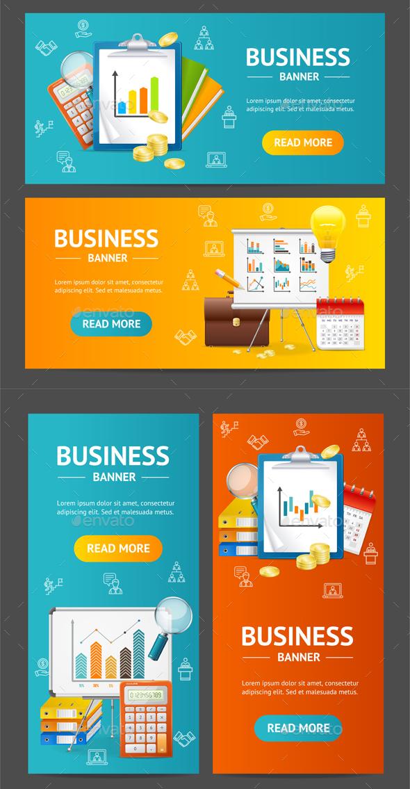 Business Banner Set - Concepts Business