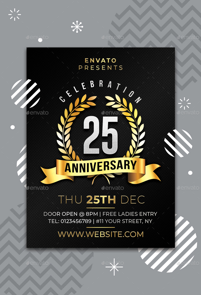 Anniversary Flyer | Anniversary Flyer By Sunilpatilin Graphicriver
