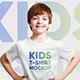 Kids Boy T-Shirt Mockups Vol2. Part 1 - GraphicRiver Item for Sale