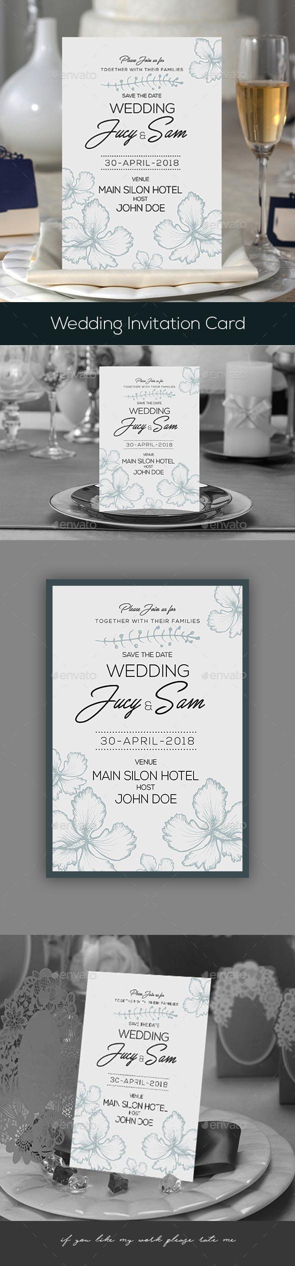 Wedding Invitation - Invitations Cards & Invites