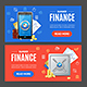 Finance Banner Set - GraphicRiver Item for Sale